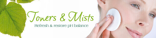 All Natural Toners and Mists