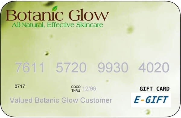 Botanic Glow e-gift card