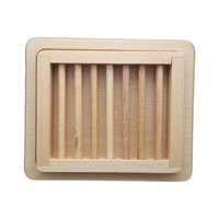 Deluxe Wooden Soap Dish