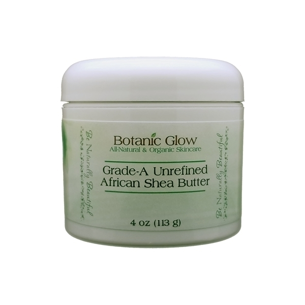 4 oz Unrefined African Shea Butter