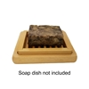 African Black Soap Bar (dish not included)