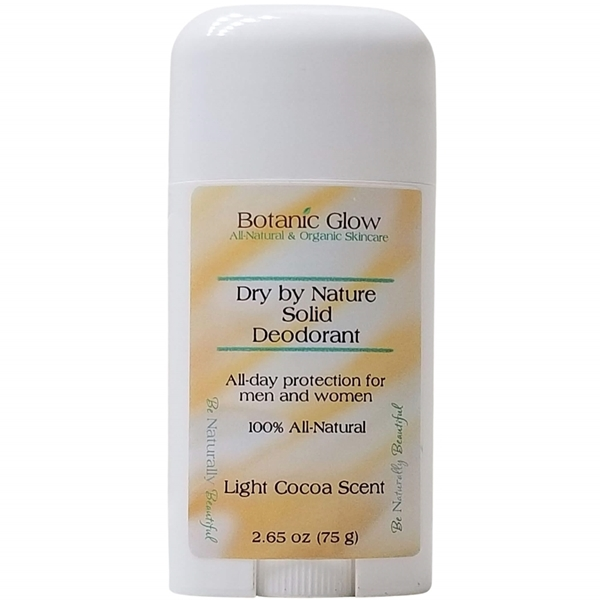 Dry by Nature Solid All Natural Deodorant